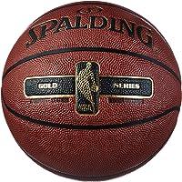 Spalding NBA Gold Ball, Pallone da Basket. Unisex Adulto