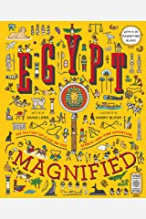 Egypt Magnified: With a 3x Magnifying Glass: 1 Hardcover