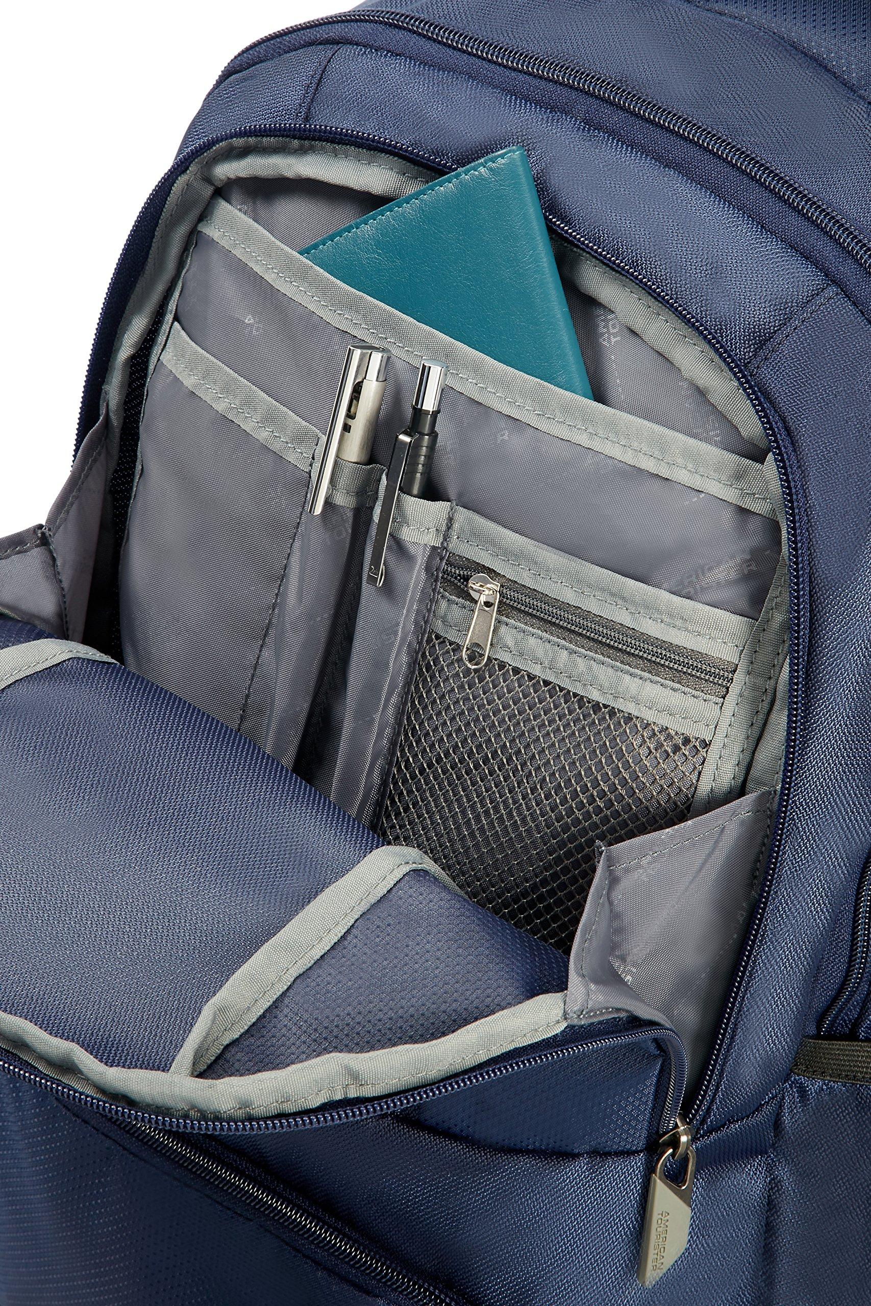 A1RxkLatPJL - American Tourister Urban Groove - 15.6 pulgadas Mochila para portátil, 50 cm, 27 L, Azul (Blue)