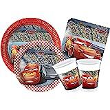 Ciao-Y4324 Cars Kit Mesa Fiesta, Multicolor, 24 Personas (Y4324)