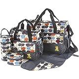 Kit de 5 sacs à langer pour bébé - Laminés, étanches, isolés, thermiques - Pour hôpital