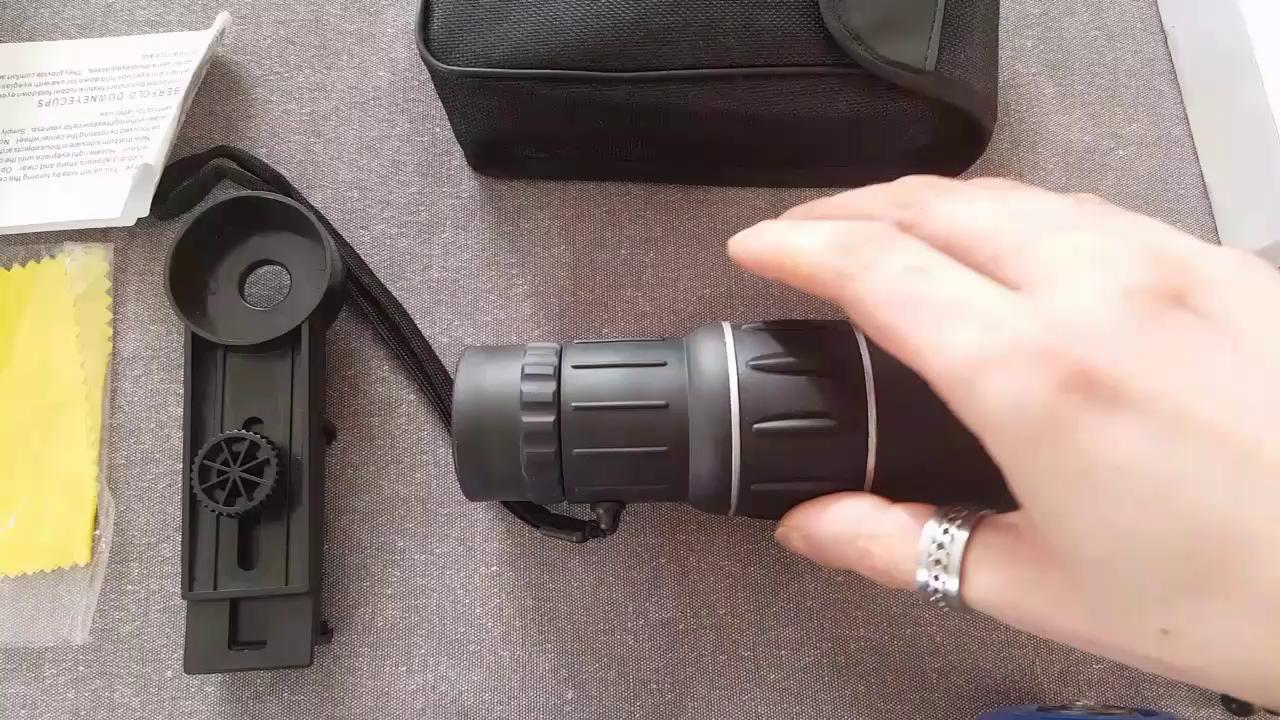 Monokular scope 16 x 52 sgodde hohe leistung hd: amazon.de: kamera