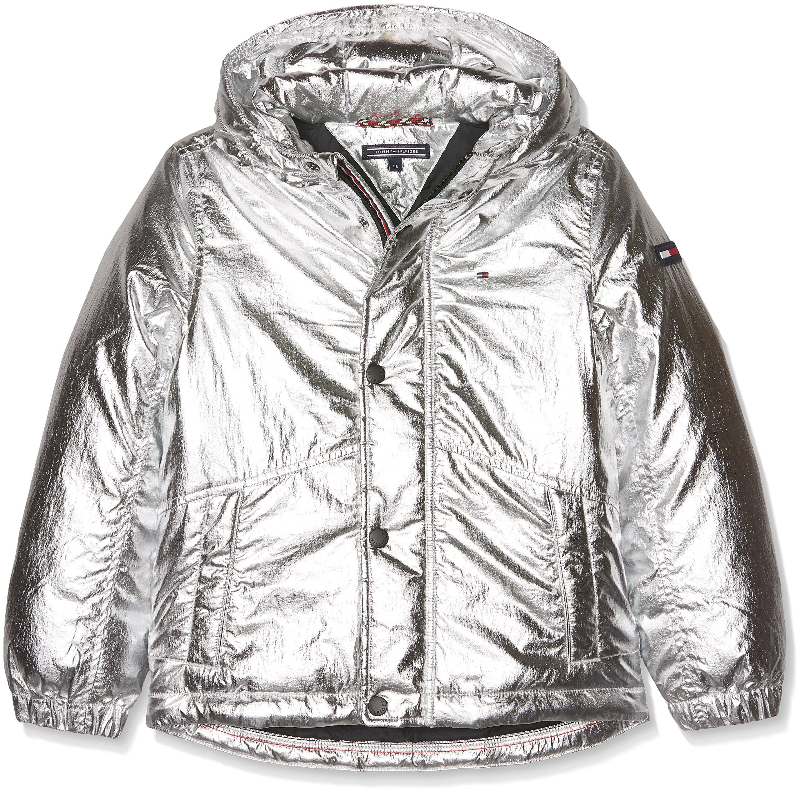 Tommy Hilfiger Thkb Shine Jacket Chaqueta para Niños