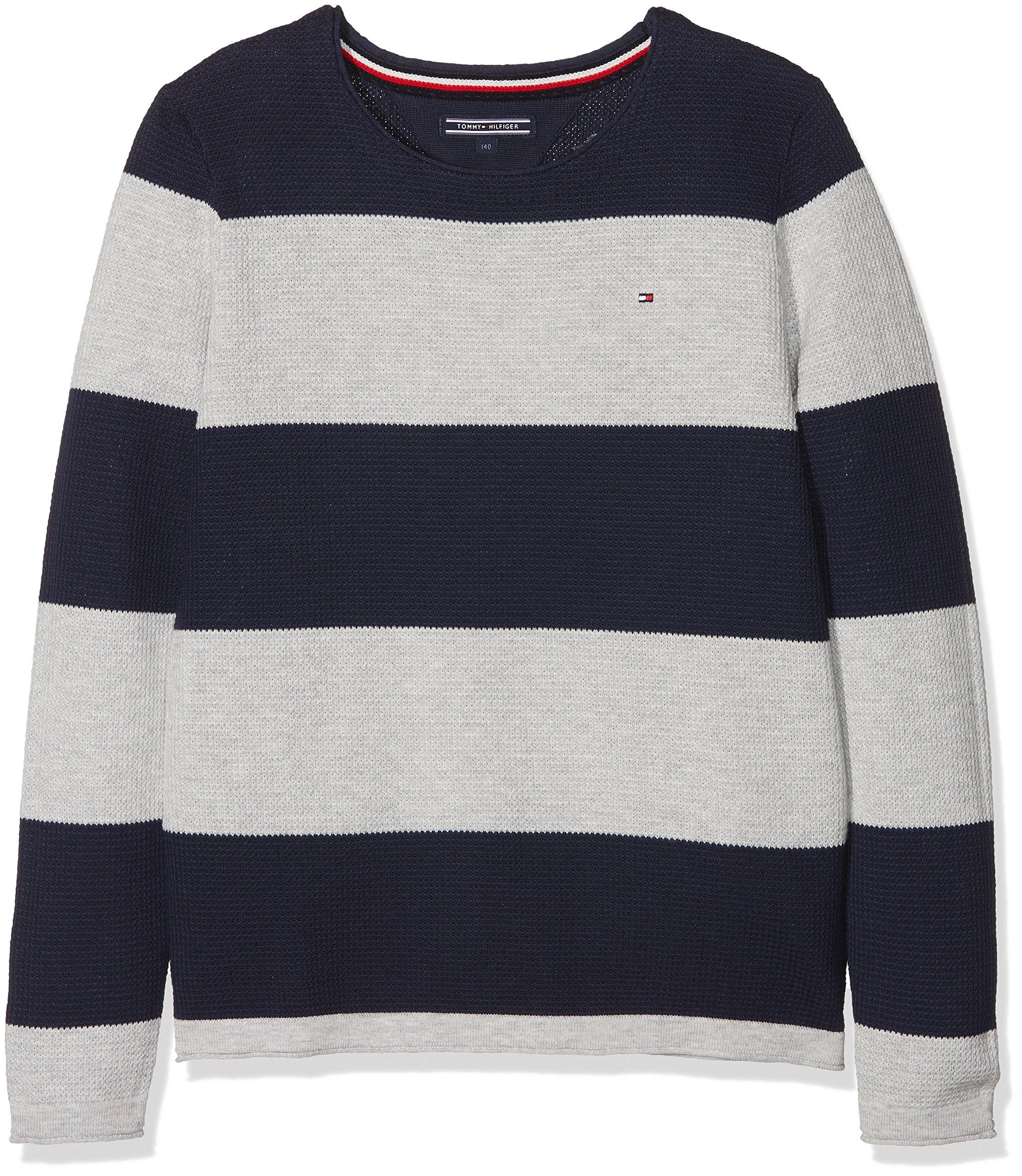 Tommy Hilfiger Boys Basic CN Knit SS Maglietta Bambino SGMStore
