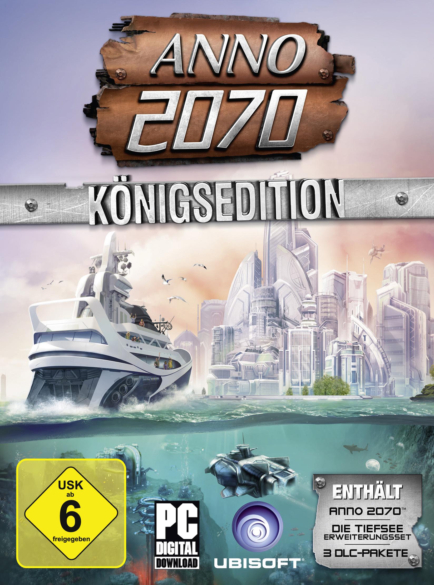 ANNO 2070 - Königsedition [PC Code - Uplay]