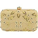 Tooba Women'S Pearl Softy Box Clutch
