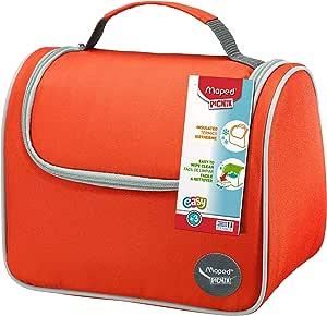Isolierte Lunch Tasche von Maped, passend zu den Picnik Lunchboxen und Trinkflaschen, Farbe Rot