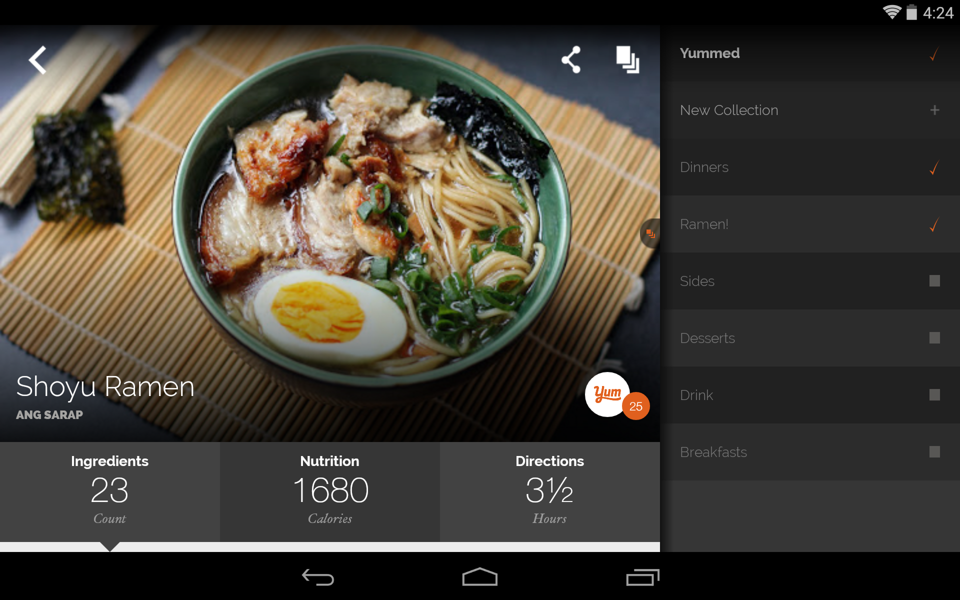 Yummly recipes recipe box amazon appstore for android forumfinder Choice Image