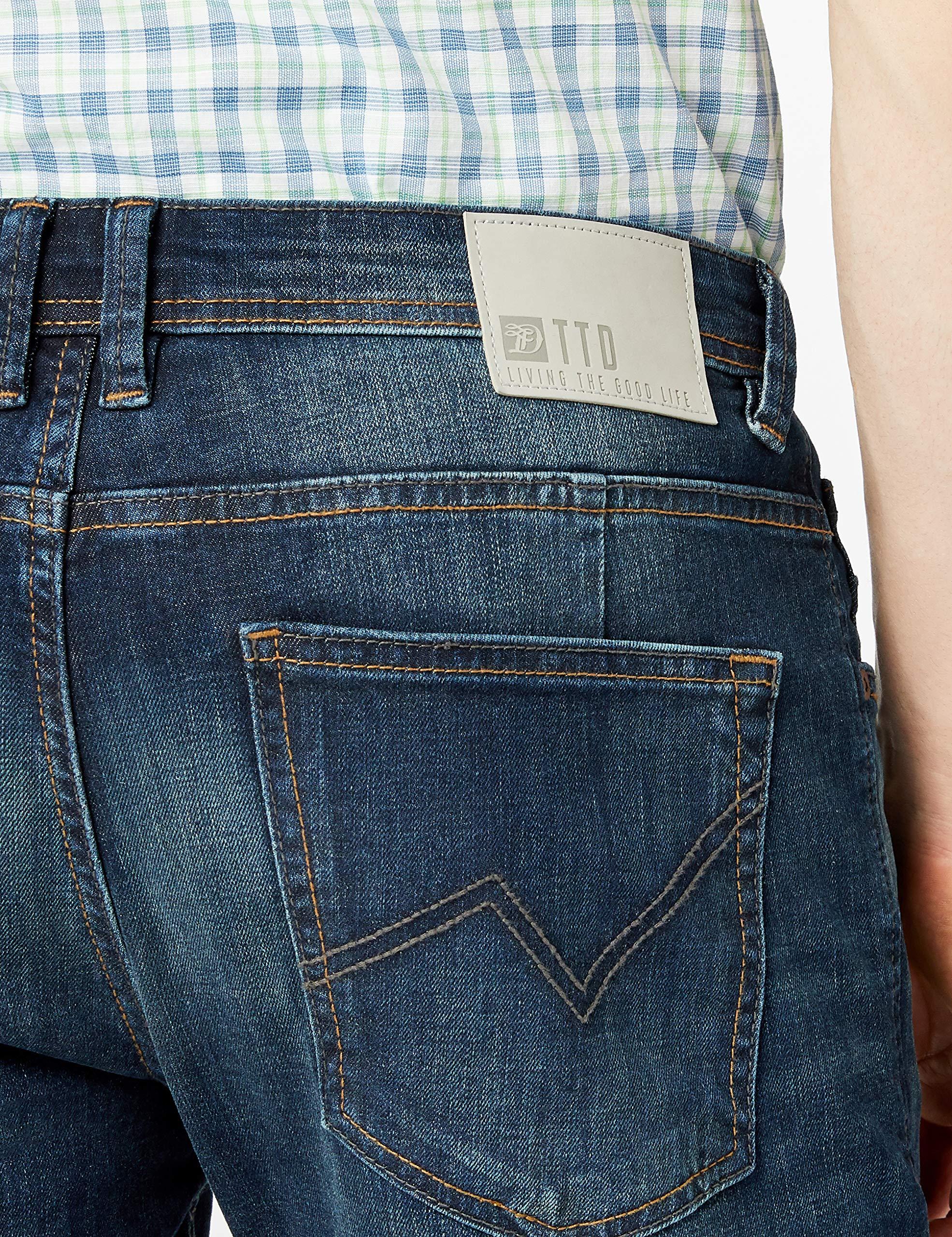 TOM TAILOR Denim Herren Jeanshose Piers Super Slim   Amazon 0bd017e0f4
