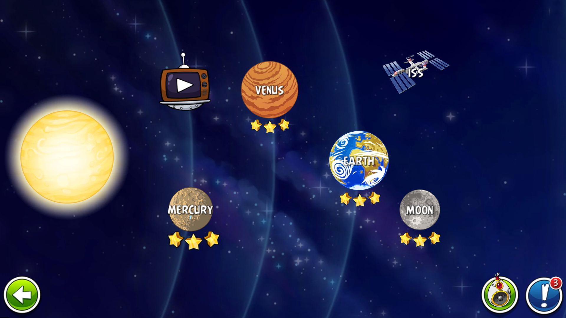 Angry Birds Space (Ad-Free) Screenshot