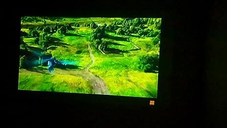 Crosstour Mini Proyector Portátil, Pico DLP Proyector Soporte Full HD con Batería Cine en Casa LED Soporte PC Firestick PS4 Dongle (Cable HDMI/USB Incluido): Amazon.es: Electrónica