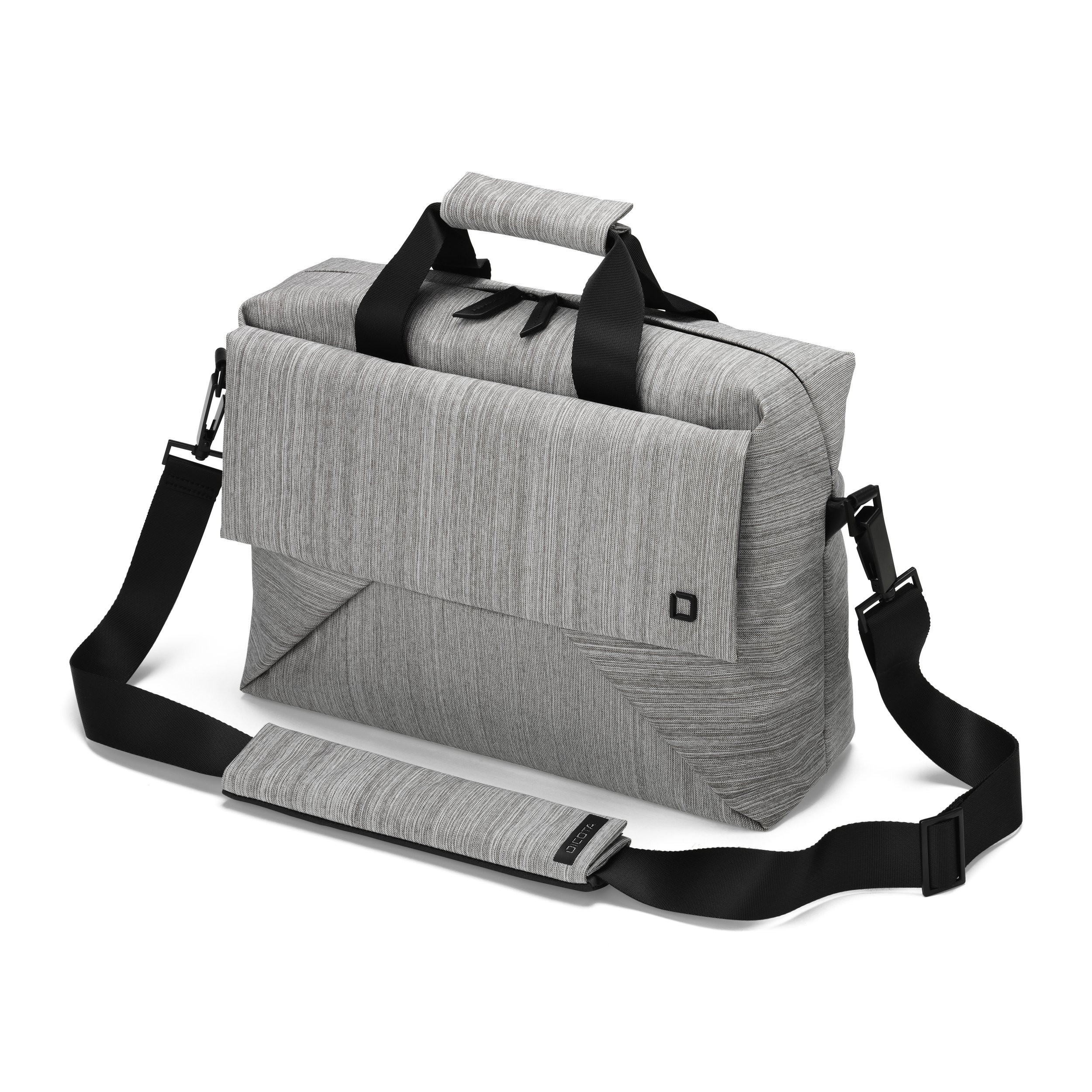Dicota Code 15-17 17 Briefcase Grey - notebook cases (43.2 cm (17), Briefcase, Grey, 15 MacBo
