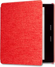 Kindle Oasis Water-Safe Fabric Cover, Red (Compatible with 9th and 10th Generations)