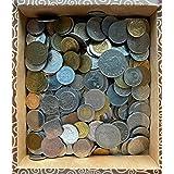 Bulk of random collectible coins (1/4kg of non-european coins)