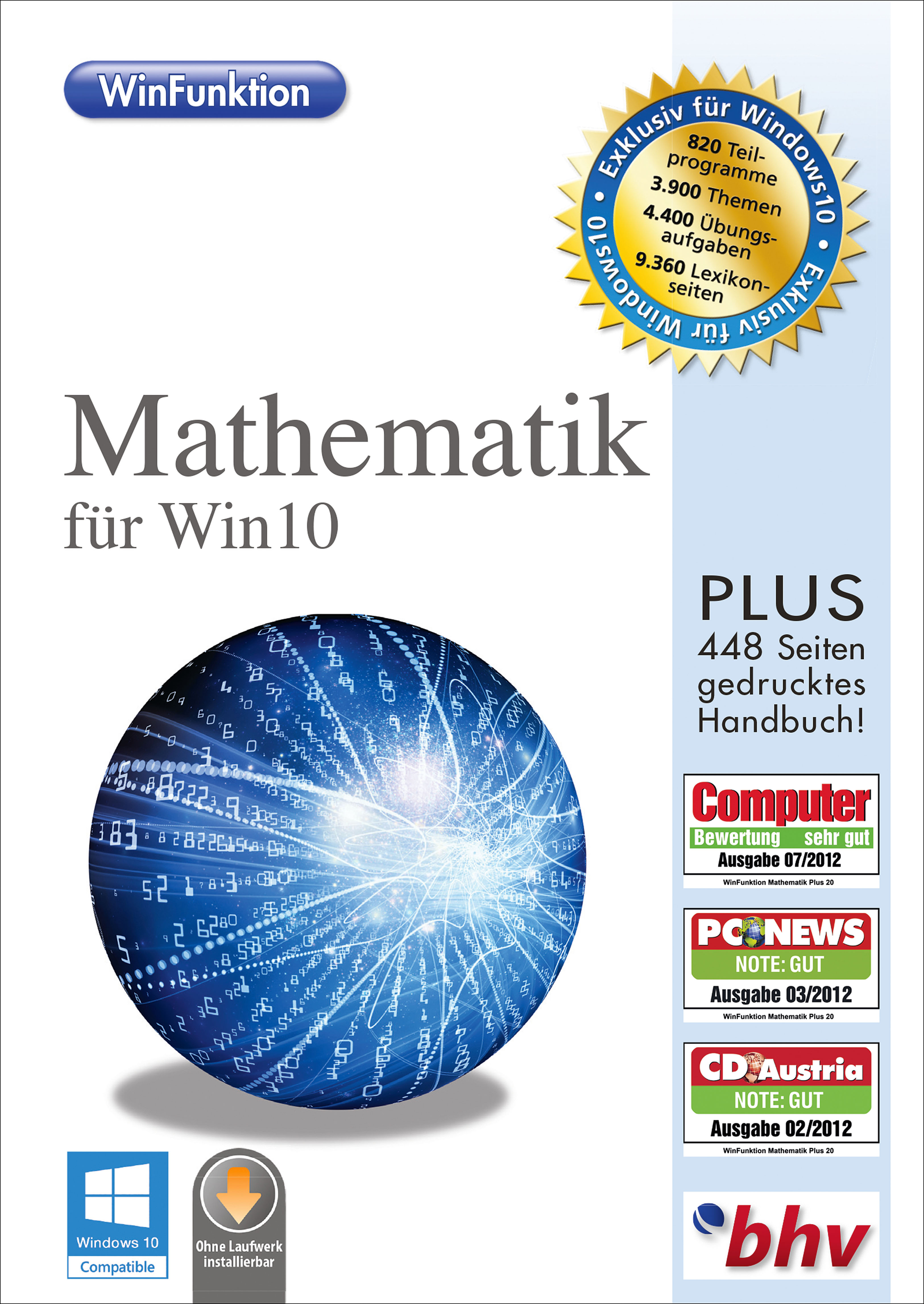 WinFunktion Mathematik für Win10 PC DL DE [Download]