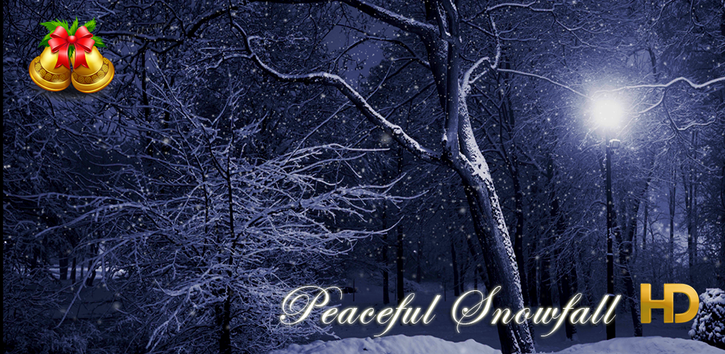 Peaceful Snowfall HD - 6