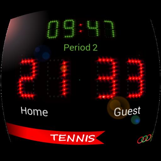 Scoreboard Tennis ++ (Table Board Score Tennis)