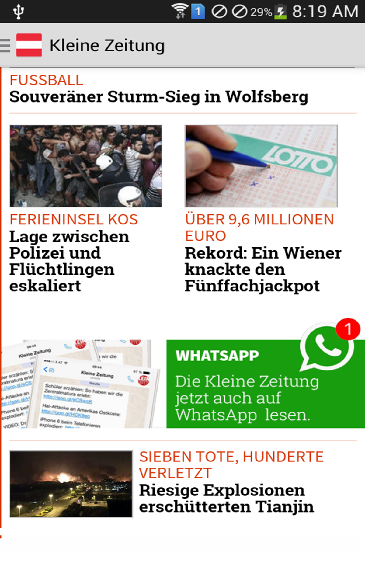 Austria News Amazoncouk Appstore For Android