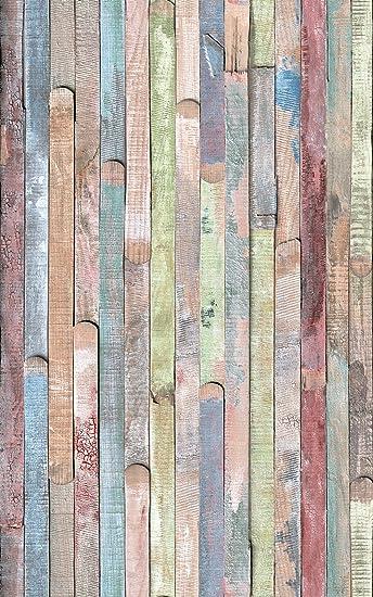 Trendig d-c-fix, Folie, deco, Design Rio buntes Holz, selbstklebend, 67,5  FS07