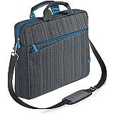 CSL - Borsa per Notebook Fino a 17,3 Pollici 33,9 cm - Custodia per Laptop Tracolla - Imbottita e Resistente allo Sporco e al