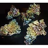Bismut Wismut-Kristall Riesig! 100Gramm Nugget Mineralien Sammlung Selten! (Bergkristall, Obsidian, Edelsteine, Bergbau, Achat, Turmalin)
