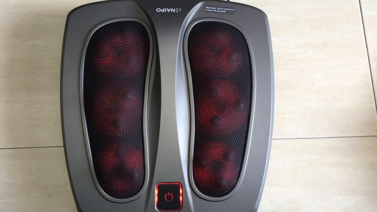 Bueno, el masajeador es perfecto, es muy bonito visualmente con unas plataformas para los pies donde cabe mi 46 De pie. Lo conectas al transformador y a ...