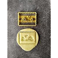 Emporte-pièce petit beurre Village| Conçu et fabriqué en France