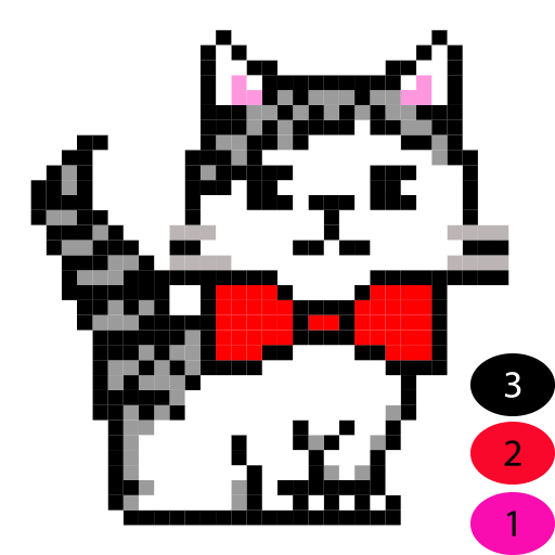 Color by Number Pixel Art Coloring Book Free Games for Kids ...