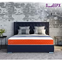Sleepwell SleepX Dual Mattress - Medium Soft and Hard (72 * 48 * 5 Inches)