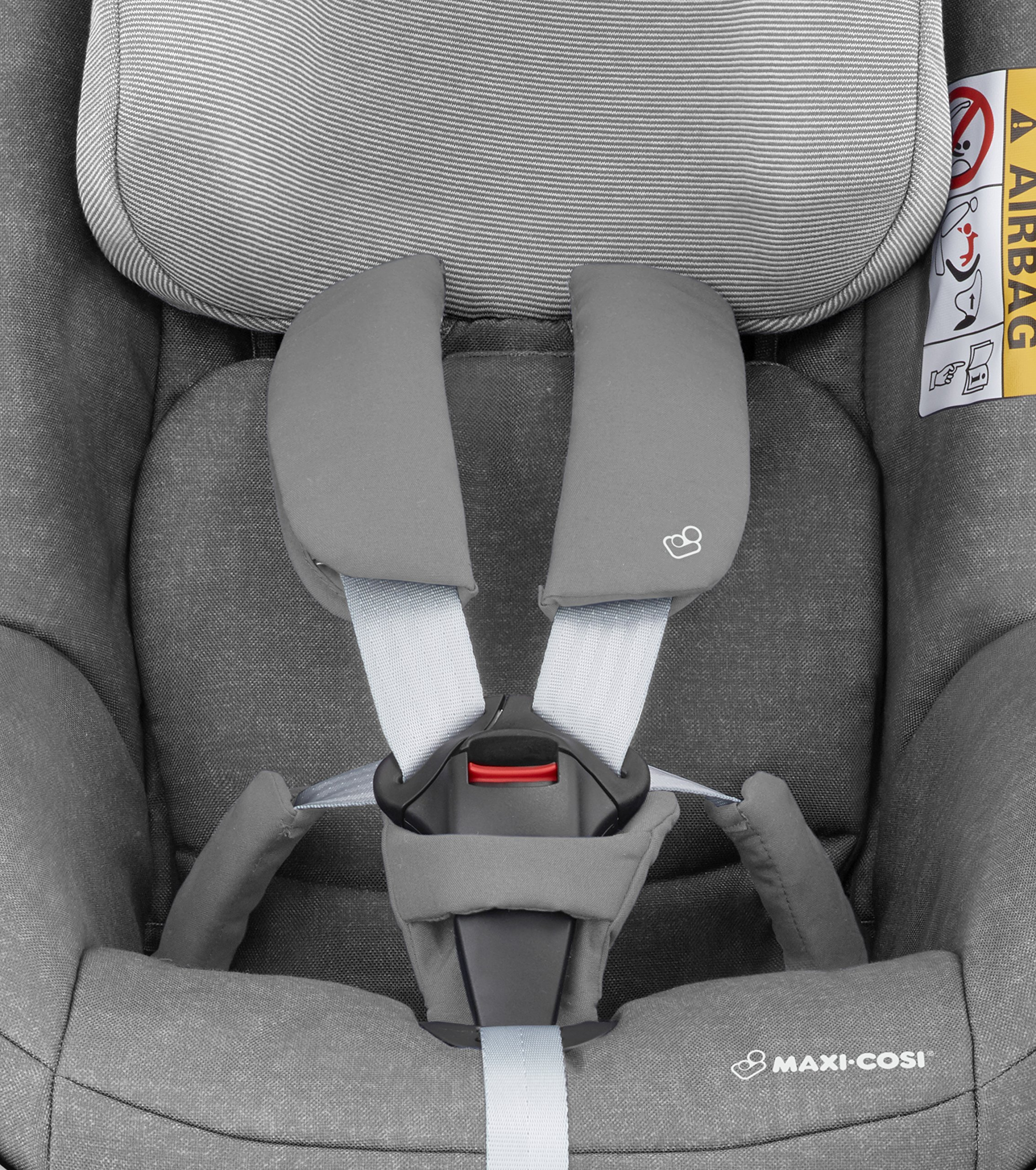 Maxi-Cosi Pearl One i-Size Toddler Car Seat Group 1, Rear-Facing Car Seat, ISOFIX, 67-105 cm, 6 Months-4 Years, Nomad Grey Maxi-Cosi Must be used with the maxi-cosi family fix one i-size base Approved according to the latest european safety standard i-size (r129) Innovative stay open harness to easily get the child in and out in seconds 6