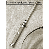 The Automatic Knife Resource Guide and Newsletter Vol 6 No. 3