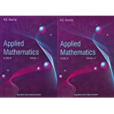 Applied Mathematics for Class 11 (Set of 2 Volume) Examination 2020-21