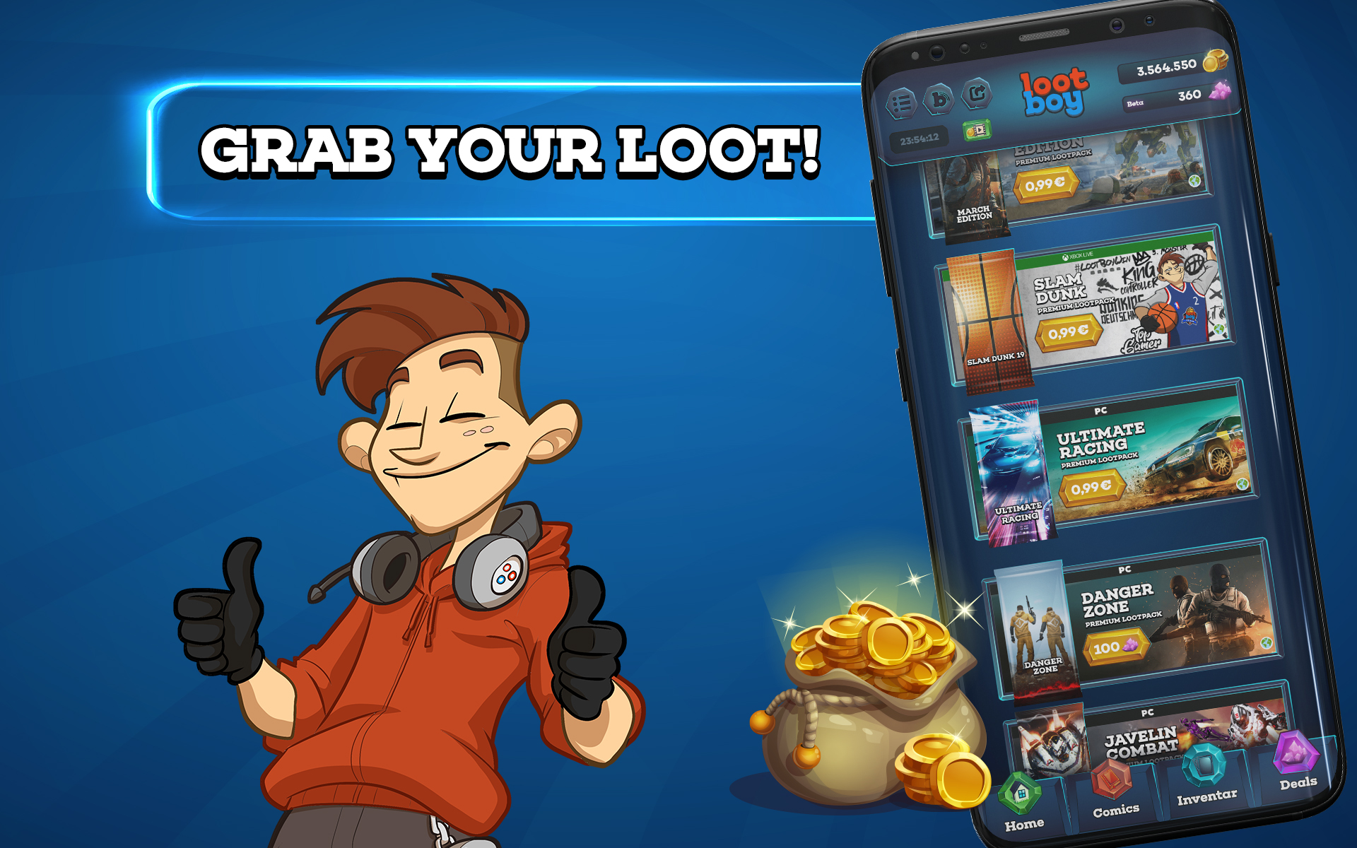LootBoy - Grab your loot!: Amazon.in: Appstore for Android