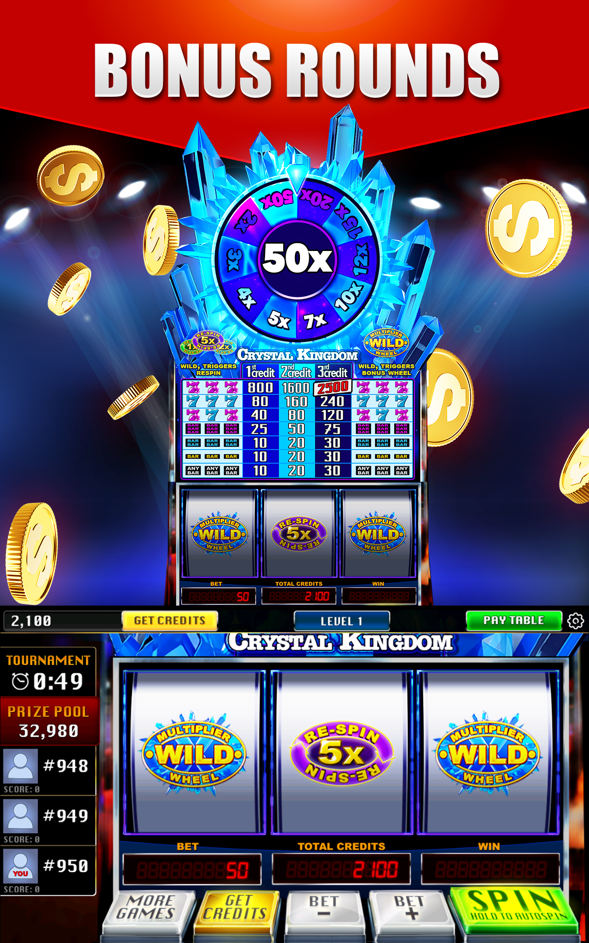 Spiele Thrill Spin Slots - Video Slots Online