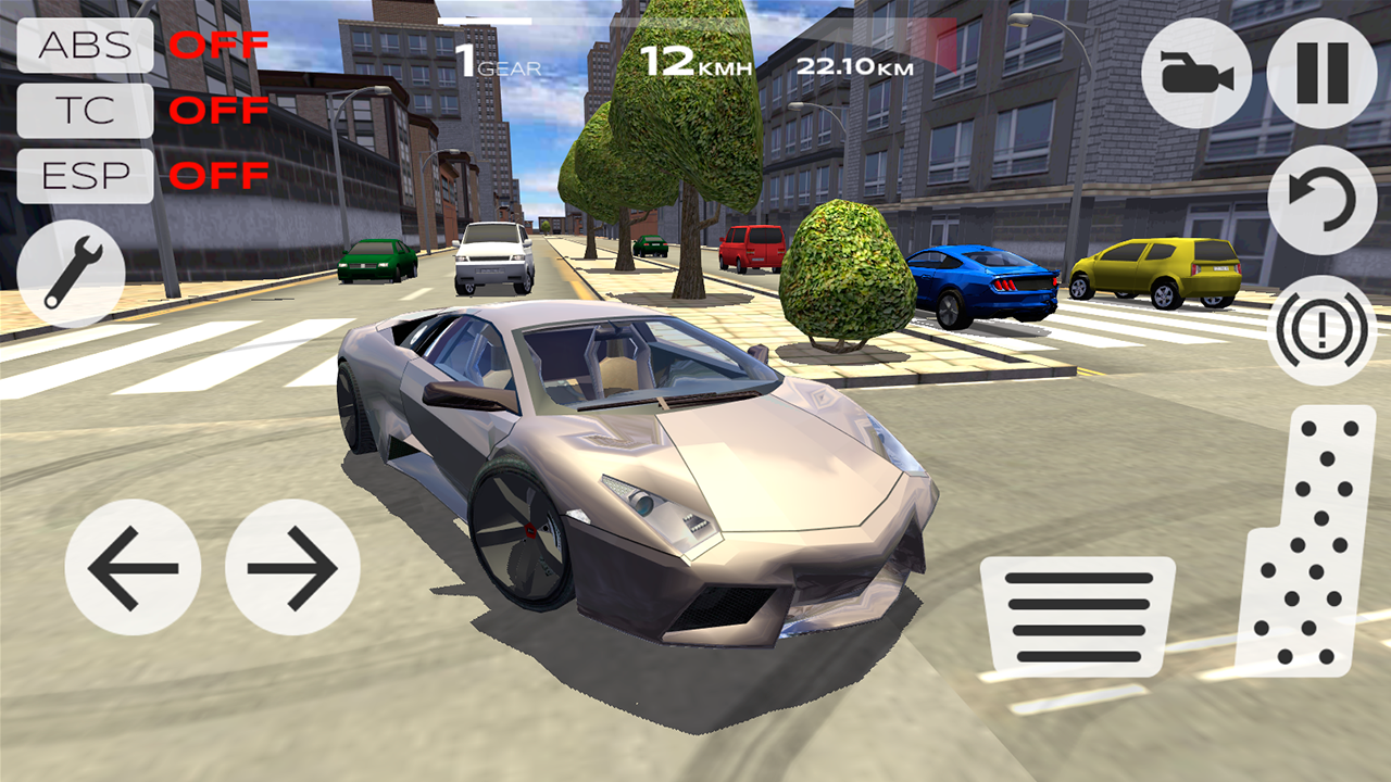 Extreme car driving simulator 2 for android free download.