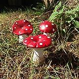 Décor fée de jardin Mushrooms
