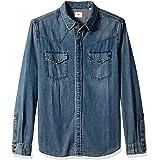 AG Adriano Goldschmied Men's Ethan Long Sleeve Denim Shirt Button