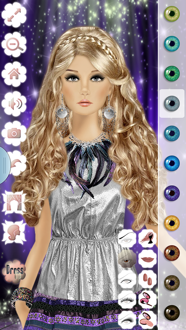 Barbie Doll Makeup, Hairstyle & Dressing Up Fashion Top