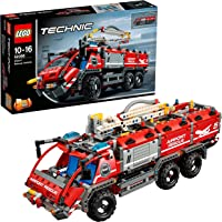 LEGO Technic Airport Rescue Vehicle Truck Building Blocks for Boys 10 to 16 Years (1094 Pcs) 42068