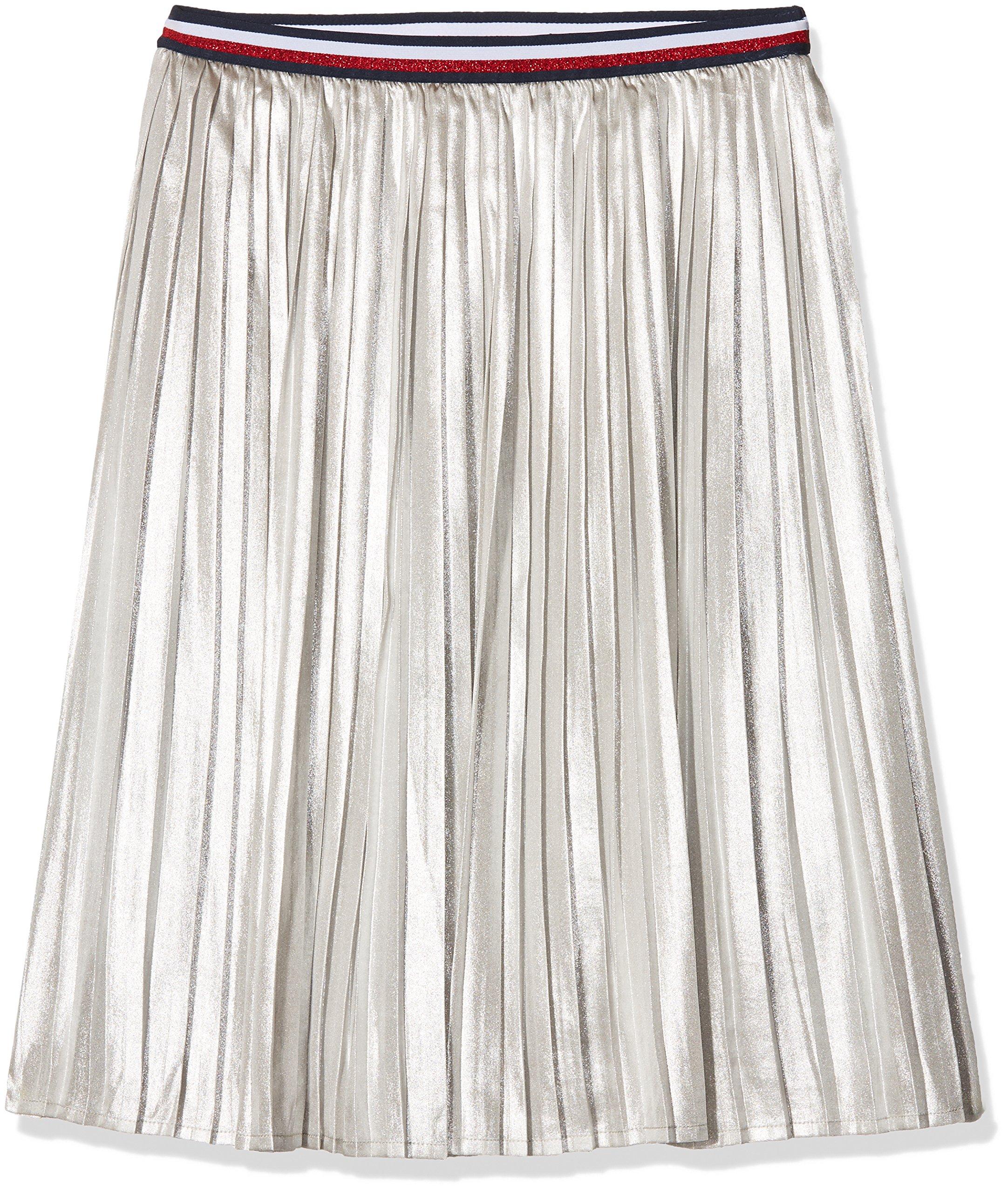 Tommy Hilfiger H Metallic Skirt Falda para Niñas