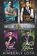 Omega Mu Brothers: Box Set Books 1-4 Kindle Edition