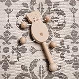 Mamimami Home Baby Spielzeug Buche Holz Teether Rattle Montessori Spiel Gym Baby Krippe Spielzeug Sensorische Aktivität Teether Rattle