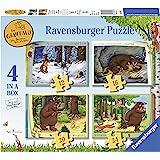 Ravensburger- The Gruffalo, 4 in a Box, Puzzle per Bambini, età 3+, Multicolore, 0, 06916 3