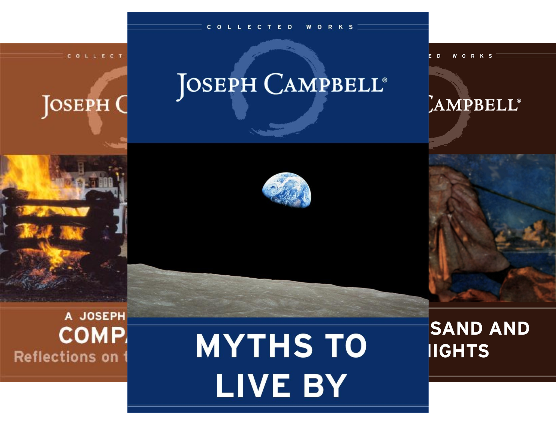 The Collected Works of Joseph Campbell (3 Book Series)
