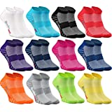 Rainbow Socks - Hombre Mujer Calcetines Deporte 9/12 Pares