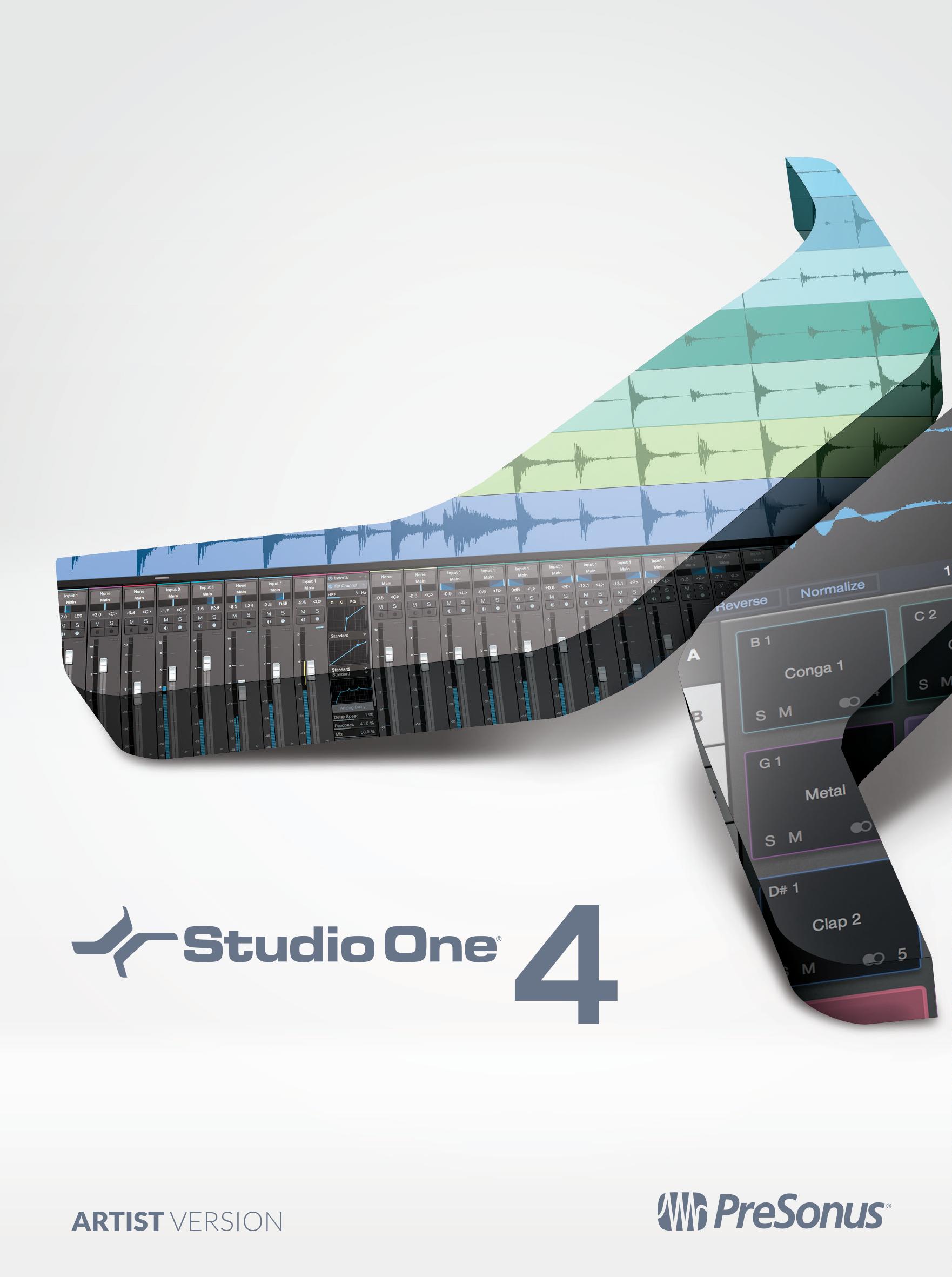 PRESONUS Studio One 4 - Logic X Musik-software Für