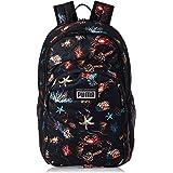 PUMA Mens Academy Backpack, Black (Black/Underwater) - 07730105