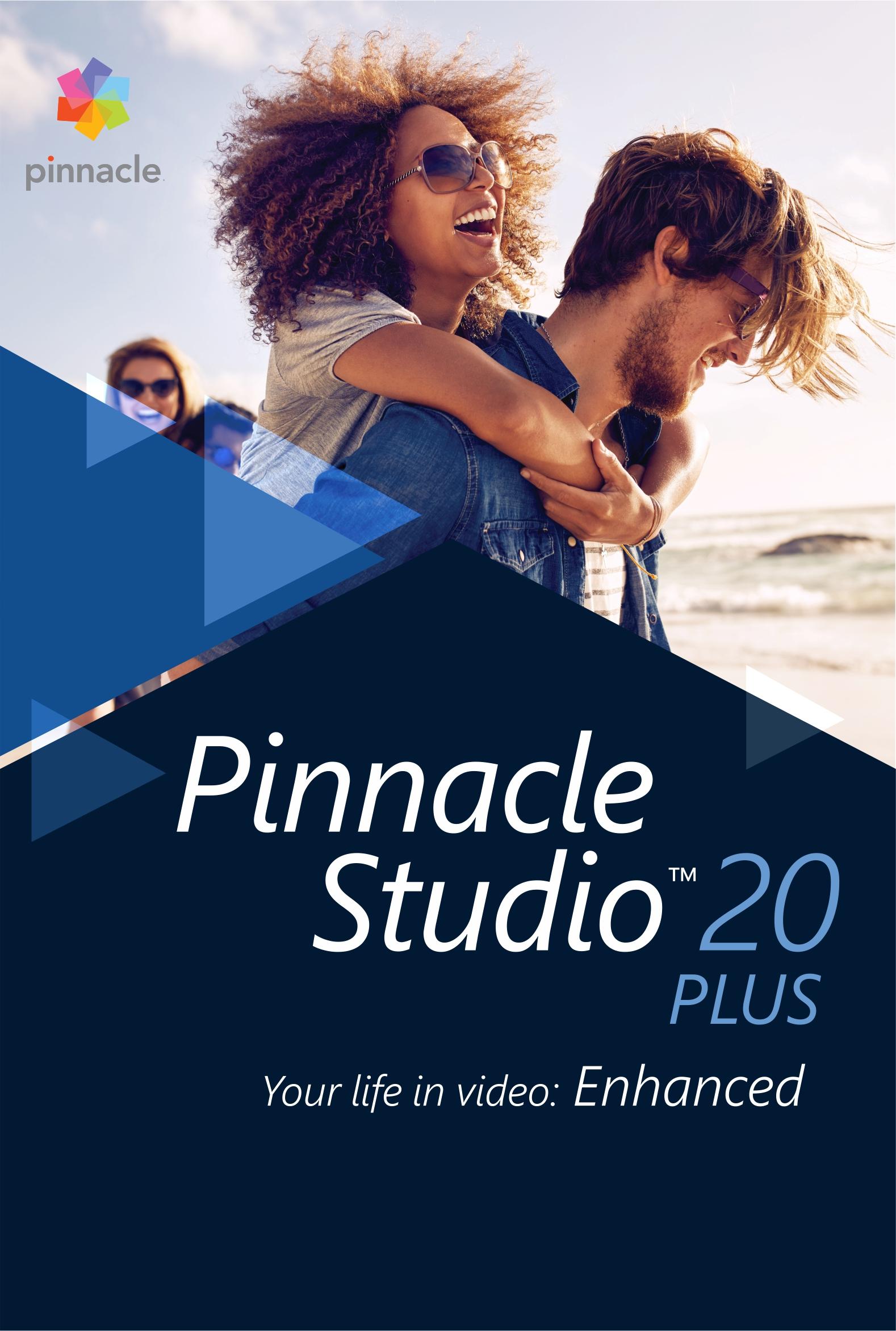 Pinnacle Studio 20 Plus [Téléchargement]