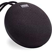 Mivi Roam Ultra-Portable Wireless Speaker with HD Sound, Booming Bass and 5Watts Peak Output-Black