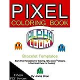 Pixel Malbuch - Armband Vorlagen 6 Grundlegende Größen [Download]